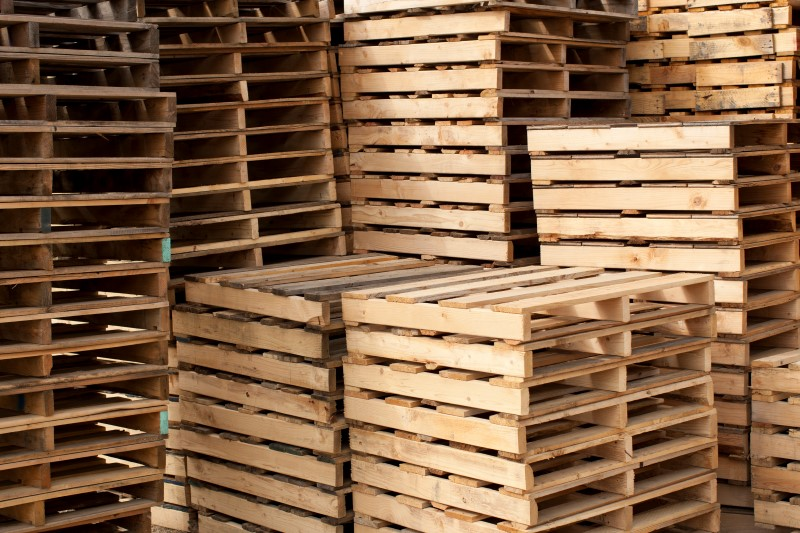custom wood pallets rebuilt or remanufactured