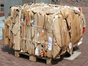 Recycling center in Elgin IL accepting corrugated cardboard, wood pallets and more