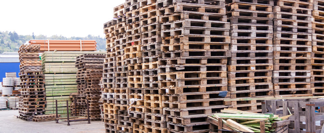 Get used wood pallets at a great rate after they've gone through our inspection process