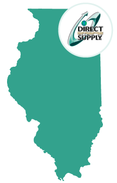 Direct Supply locations served near Elgin IL