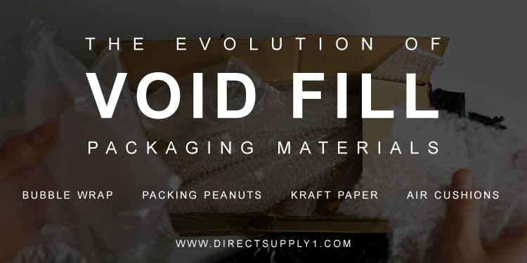Void fill packaging materials, an evolution
